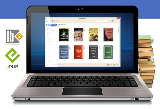 Icecream Ebook Reader v1.42 (2014) MULTi/Русский