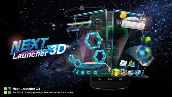 Next Launcher 3D Shell + Themes Pack