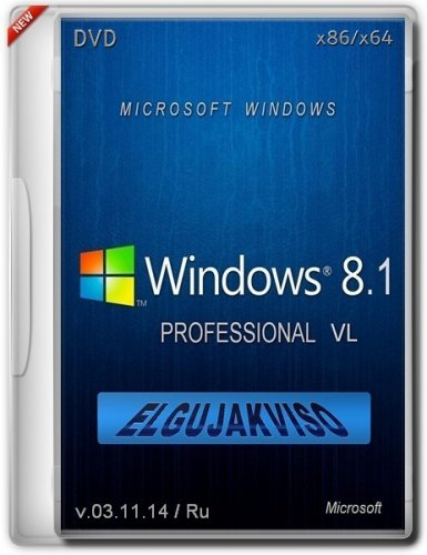 Windows 8.1 Pro Elgujakviso Edition v03.11.14 (x86/x64) (2014) Русский
