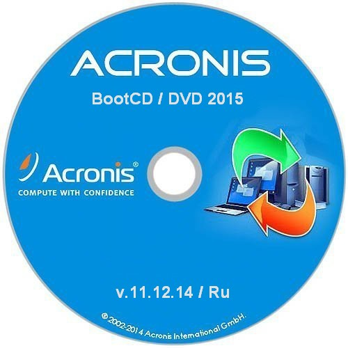 Acronis BootCD/DVD 2015 RePack By Elgujakviso (v11.12.14)