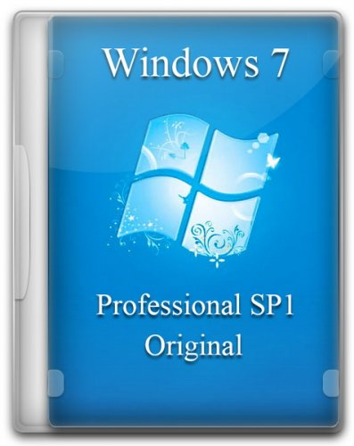 Windows 7 Professional SP1 Original by -A.L.E.X.- 23.12.2014 (x86/x64) (2014) RUS/ENG