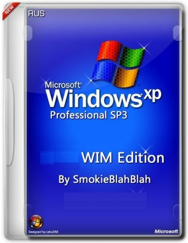Windows XP SP3 WIM Edition by SmokieBlahBlah 30.11.14 (x86) (2014) Русский