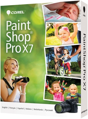 Corel PaintShop Pro X7 17.1.0.72 Special Edition (2014) RePack by -{A.L.E.X.}-
