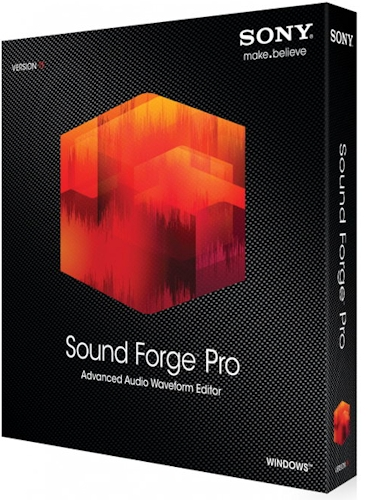 SONY Sound Forge Pro 11.0 Build 299 (2015) Multi / Русский