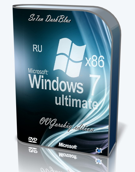 Windows 7 Ultimate Ru SP1 7DB by OVGorskiy® (x86) (06.2016) Русский
