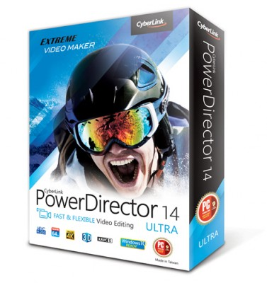CyberLink PowerDirector 14 Ultimate 14.0.2019.0 (2015)