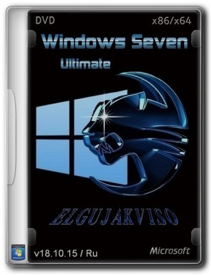 Windows 7 Ultimate SP1 (x86/x64) Elgujakviso Edition (2015) Русский
