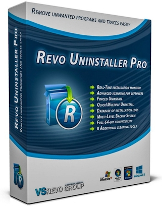 Revo Uninstaller Pro 3.2.1 RePack & Portable (2018) Multi/Русский