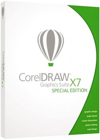 CorelDRAW Graphics Suite X7 17.6.0.1021 HF1 Special Edition (2015) RePack by -{A.L.E.X.}-