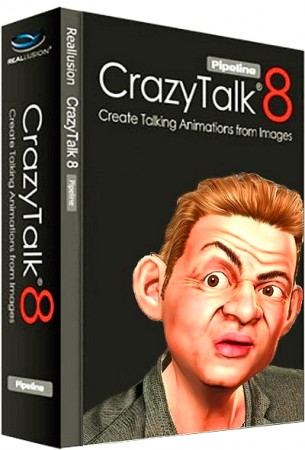 Reallusion CrazyTalk Pipeline 8.03.1620.1 + Resource Pack (2016) Русский