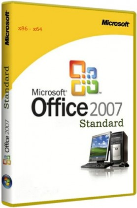 Microsoft Office 2007 Standard SP3 12.0.6762.5000 RePack by KpoJIuK (2017.03)