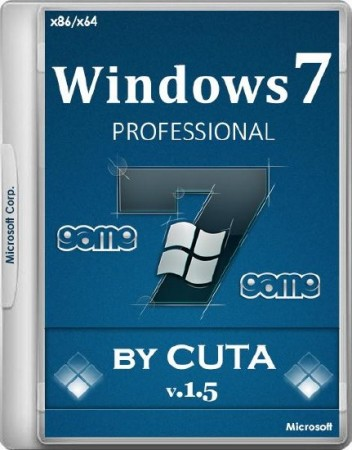 Windows 7 PROFESSIONAL Rus x86 & x64 Game OS 1.5 (2016) �������