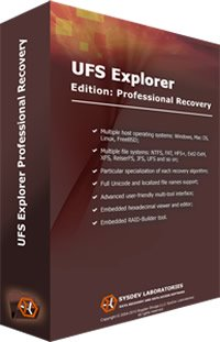 UFS Explorer Professional Recovery 5.20.2 (2016) Multi / Русский