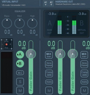 VB-Audio VoiceMeeter Banana 2.0.3.1 (2016) Английский
