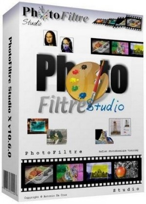 PhotoFiltre Studio X 10.12.1 Extended Build R1 (2017) Русский / Английский