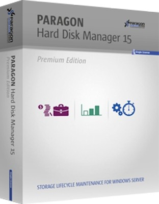 Paragon Hard Disk Manager 15 Premium 10.1.25.1137 (2017) Русский