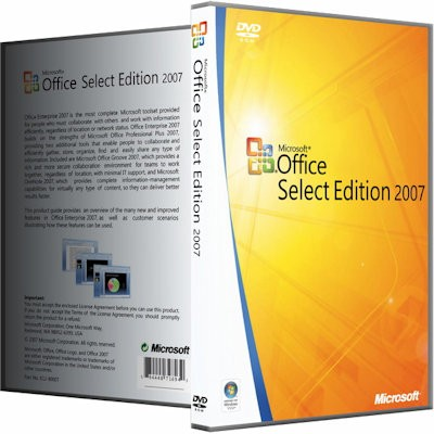 Microsoft Office 2007 SP3 Select Edition 12.0.6766.5000 RePack by KpoJIuK (2017) Русский