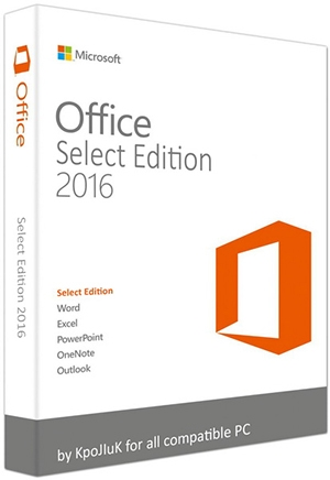 Microsoft Office 2016 Select Edition 16.0.4498.1000 RePack by KpoJIuK (2017) Русский