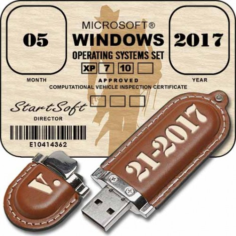 Microsoft Windows Operating Systems Set Release By StartSoft 21-2017 (2017) Русский