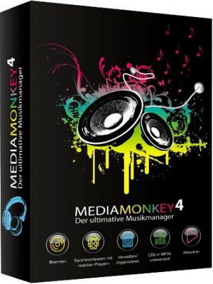 MediaMonkey Gold 4.1.18.1853 RePack (& portable) by KpoJIuK (2017) Русский / Английский