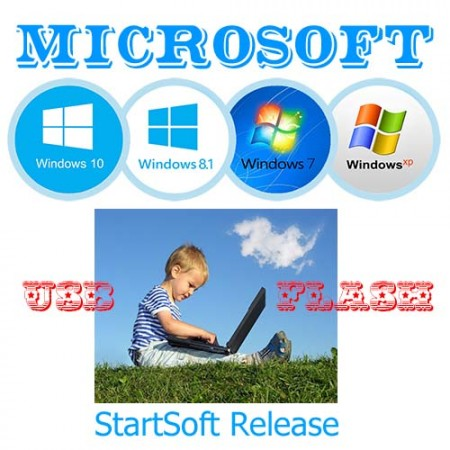 Microsoft Windows Release By StartSoft 30-2017 (2017) Русский