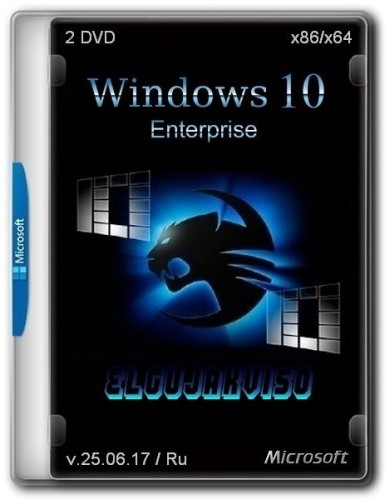 Windows 10 Enterprise x86/x64 Elgujakviso Edition v.25.06.17 (2017) Русский