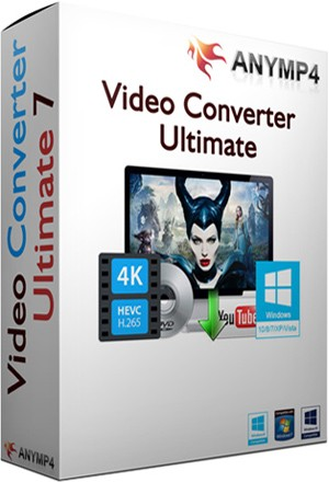 AnyMP4 Video Converter Ultimate 7.2.18 RePack (2017) Русский / Английский