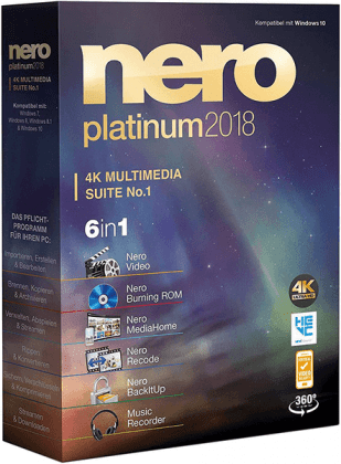 Nero Platinum 2018 Suite 19.0.07000 (2017) PC | Русский