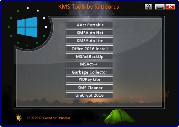 KMS Tools Portable 01.03.2018 by Ratiborus (2018) Русский
