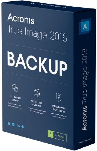 Acronis True Image 2018 Build 11530 RePack by KpoJIuK (2018) Multi/Русский