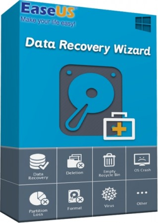 EaseUS Data Recovery Wizard Technician 11.8 (2017) Multi/Русский