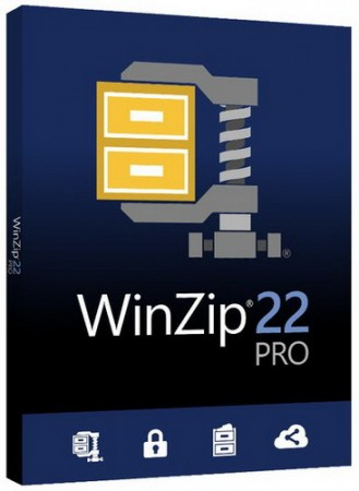 WinZip Pro 22.0 Build 12670 Final RePack by D!akov (2017) Русский / Английский