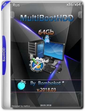 MultiBootHDD 64GB (2018) Русский