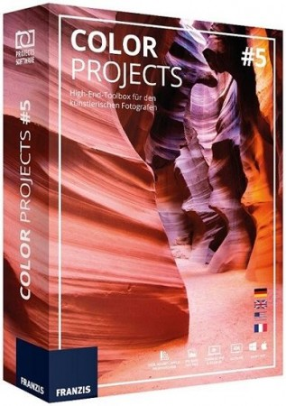 Franzis COLOR Projects 5.52.02653 RePack & Portable (2018) Multi/Русский